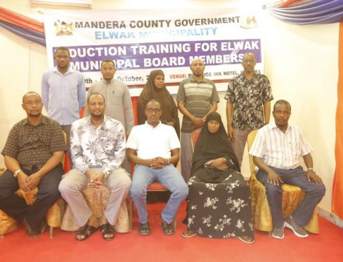 Elwak Municipality conducts 3 days induction for board members