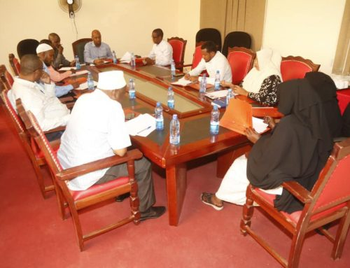 Elwak Municipality board members hold inaugural meeting Mandera Municipality