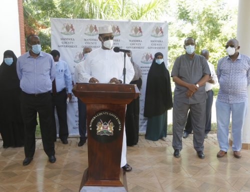 Governor Roba's 15th press briefing on Covid-19 pandemic