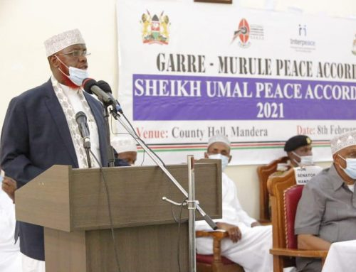 Resolutions of Sheikh Umal Peace Accord 2 between Garre and Murule communities