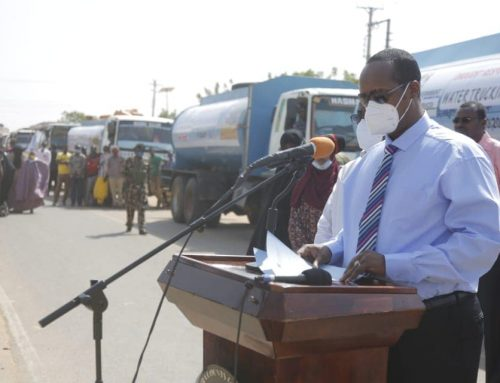 H.E Governor Roba's Speech During Launch of Water trucking
