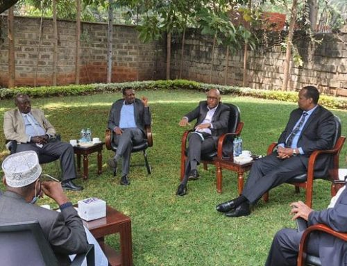 Takaba Peace meeting attended by Cabinet Secretary For EAC
