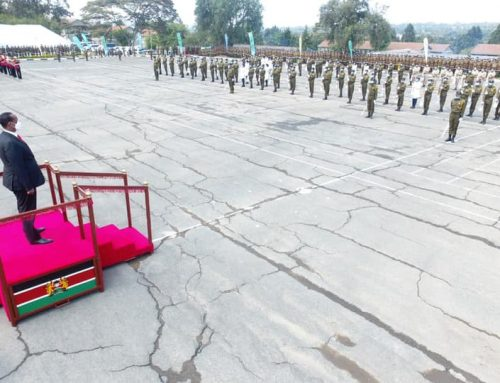 His Excellency's Speech on village administrators & enforcement officers's Naivasha Passout Parade, 2021
