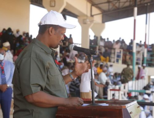 H.E's Speech on the Launch of NHIF at Mandera Moi Stadium 14th Sep, 2021